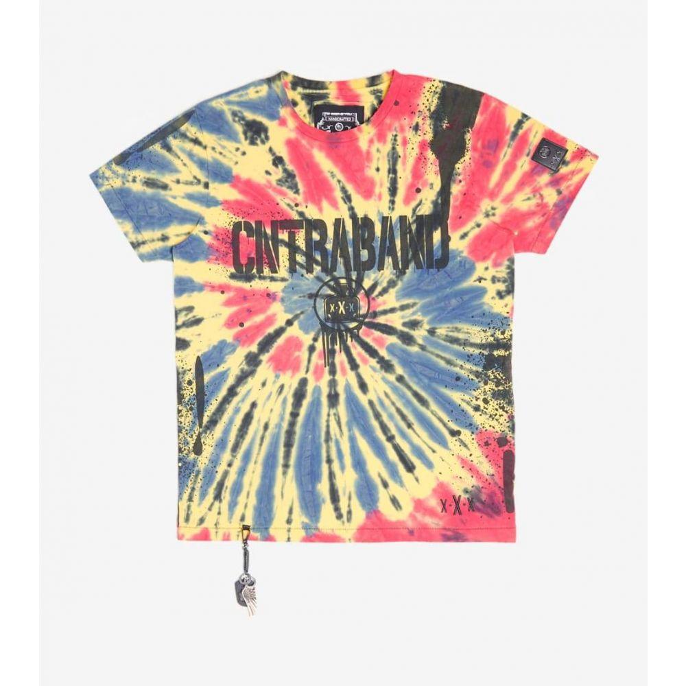 スマグラーズ ムーン Smugglers Moon メンズ Tシャツ トップス【Contraband Tee】Tie Dye