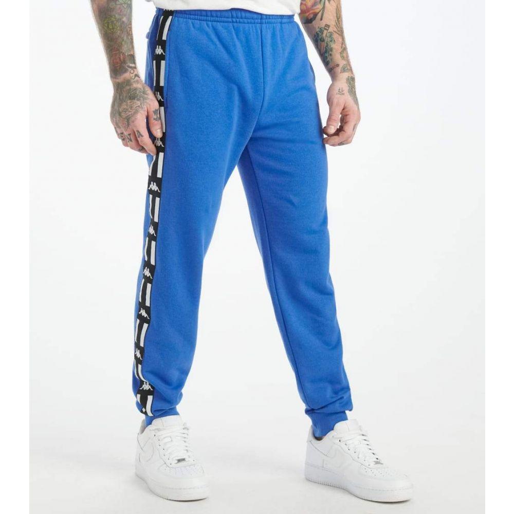 カッパ Kappa メンズ ジョガーパンツ ボトムス・パンツ【Authentic La Barno Joggers】Blue/Black