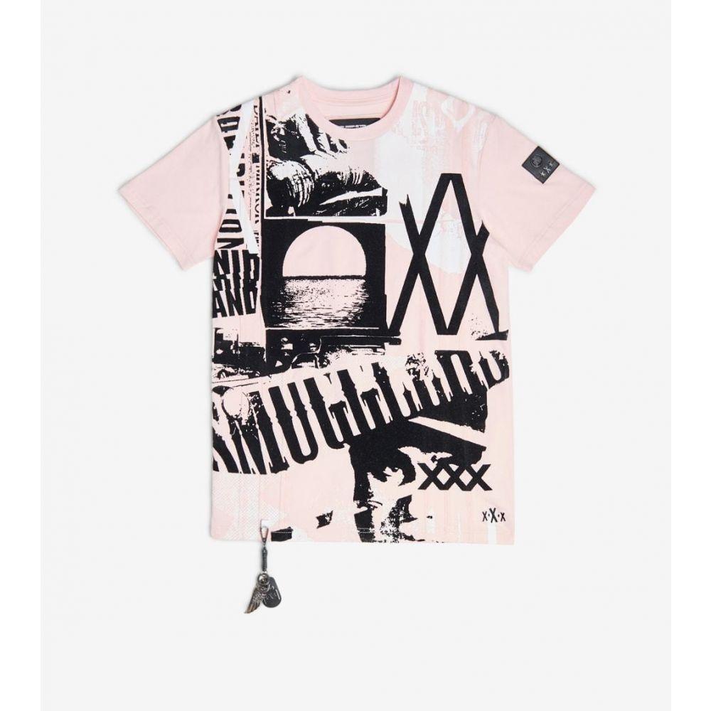 スマグラーズ ムーン Smugglers Moon メンズ Tシャツ トップス【Moonshine Tee】Dusty Pink