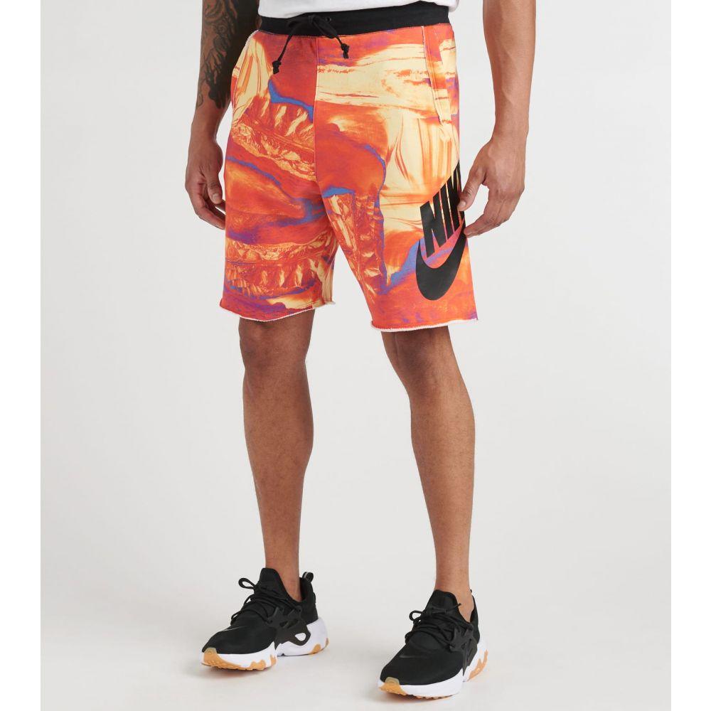 ナイキ Nike メンズ ショートパンツ ボトムス・パンツ【NSW Alumni Short】Red/Black