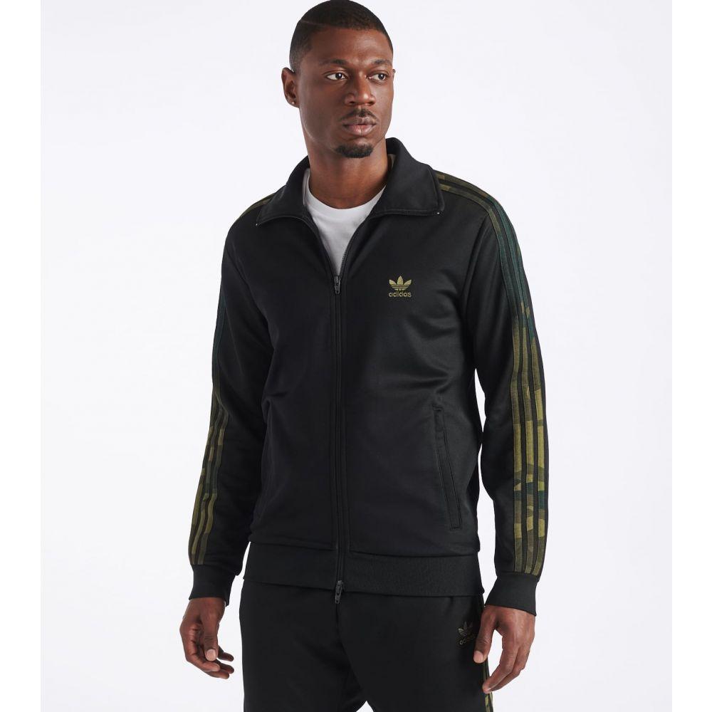 アディダス Adidas メンズ ジャケット アウター【Camo Jacket】Black