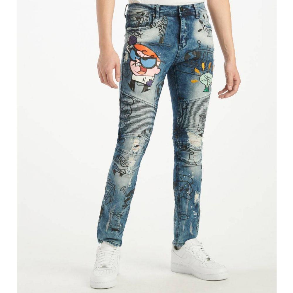 DE.KRYPTIC メンズ ジーンズ・デニム ボトムス・パンツ【Dexter Jeans】Blue