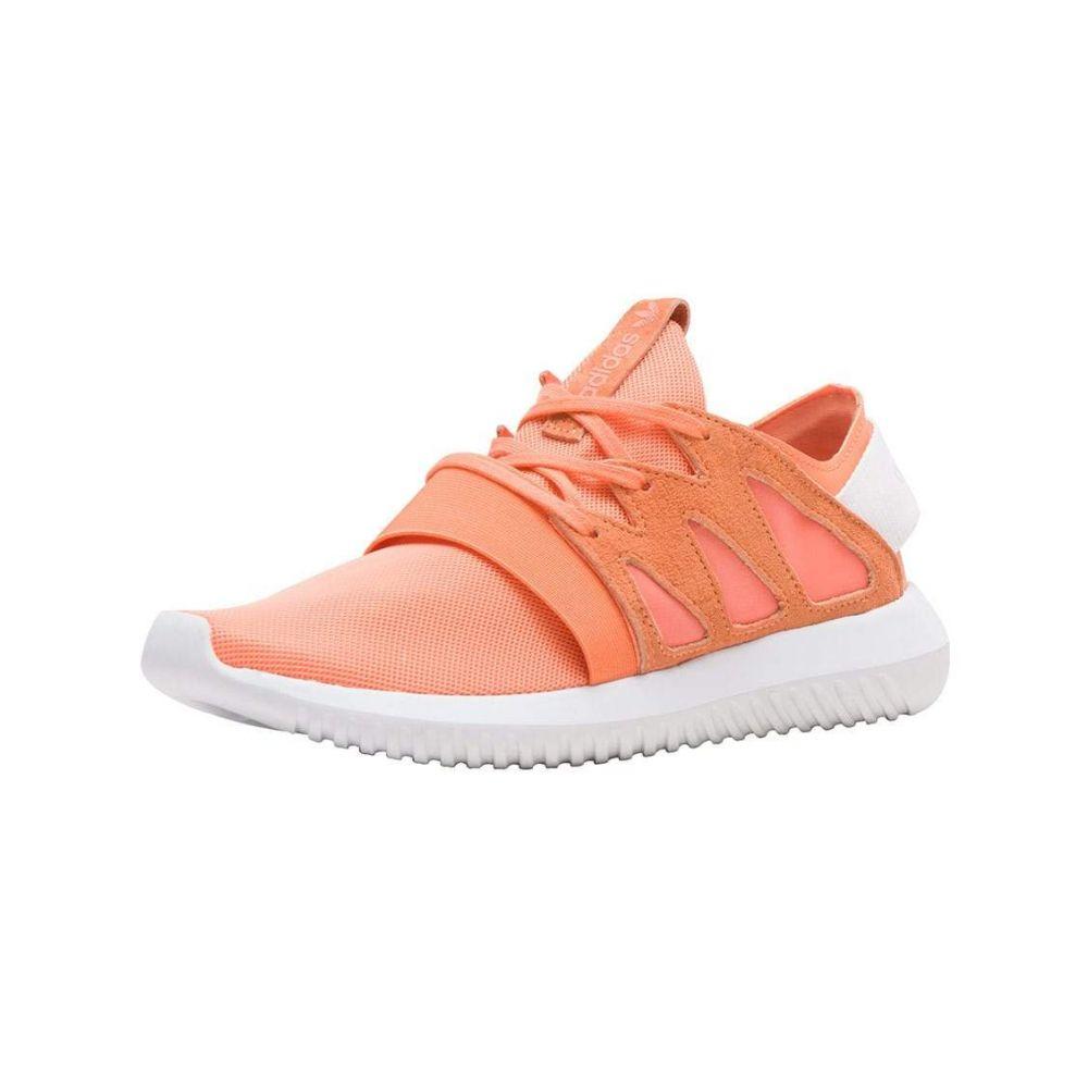 アディダス Adidas レディース ランニング・ウォーキング シューズ・靴【TUBULAR VIRAL】OrgOrange/White
