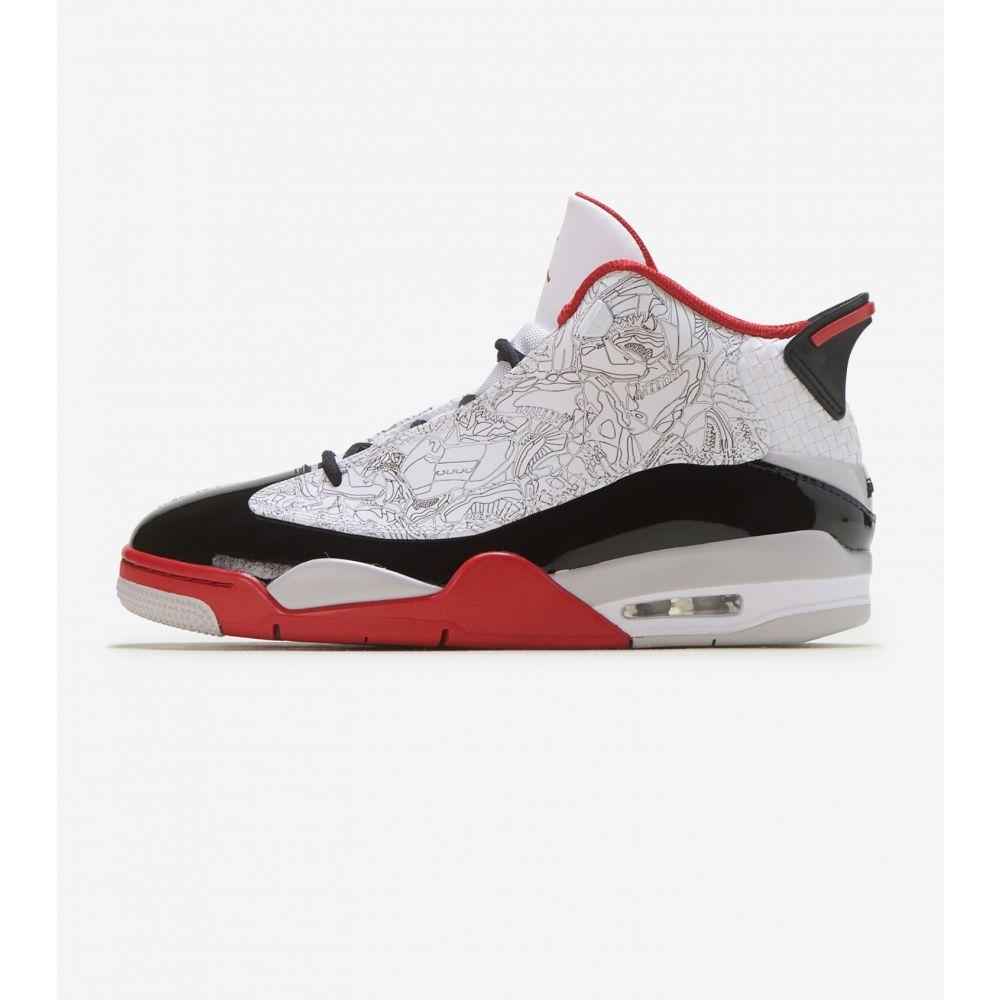 ナイキ ジョーダン Jordan メンズ バスケットボール シューズ・靴【Dub Zero Varsity Red】White/Black/Red