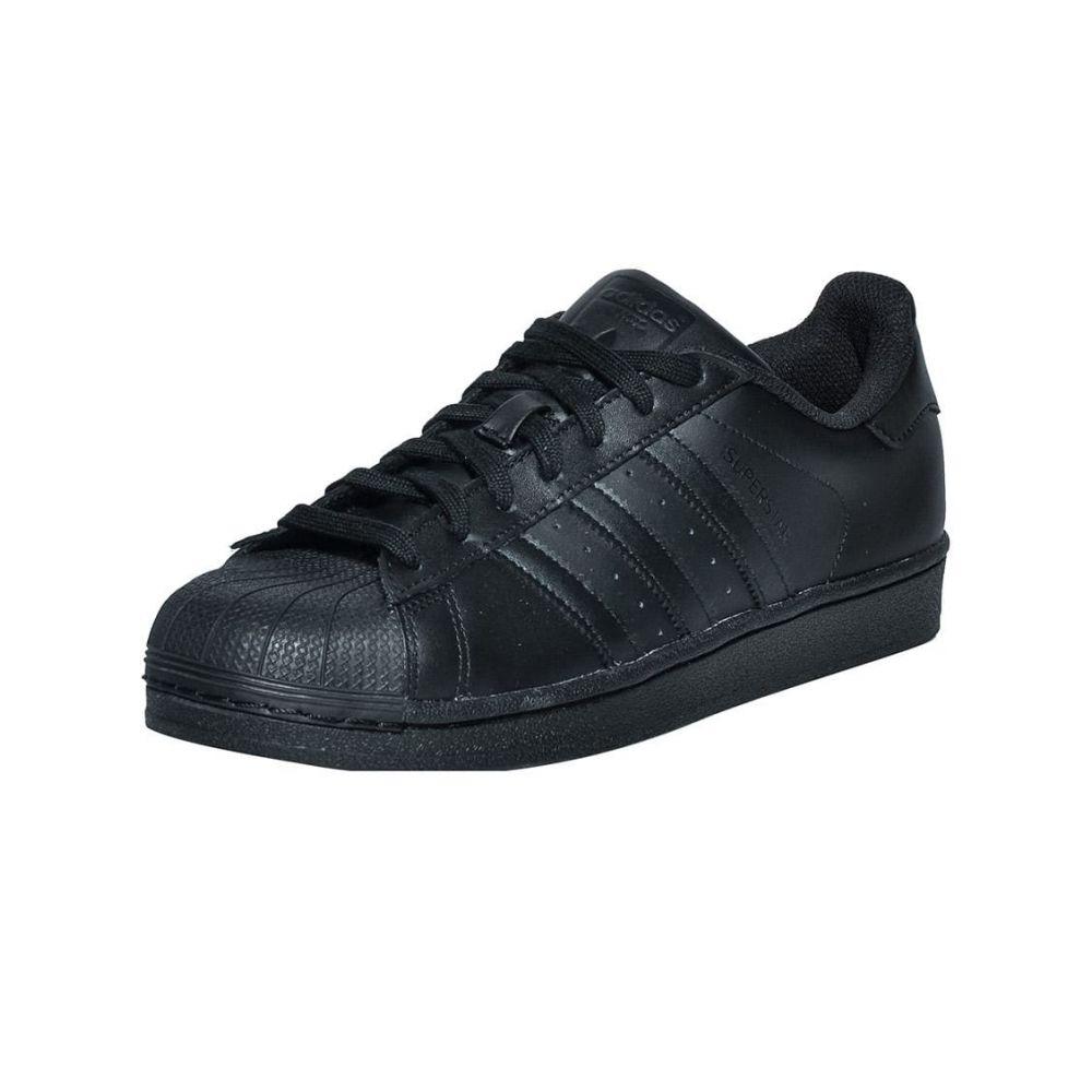 アディダス Adidas メンズ スニーカー シューズ・靴【SUPERSTAR FOUNDATION SNEAKER】Black/Black
