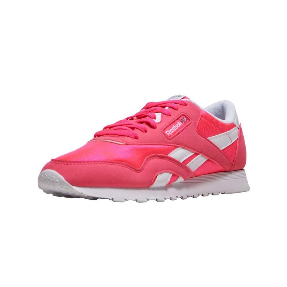 リーボック Reebok レディース ランニング・ウォーキング シューズ・靴【CL Nylon Brights】Pink/White