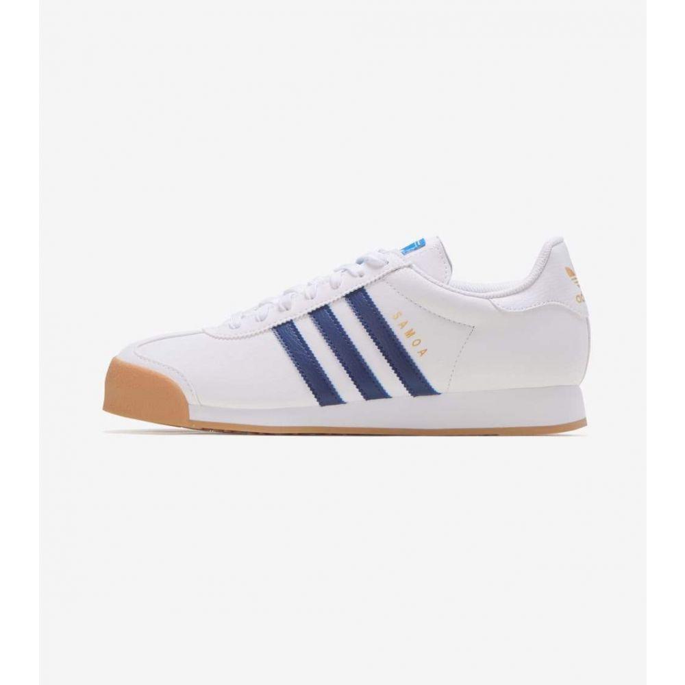アディダス Adidas メンズ シューズ・靴 【Samoa】White/Navy/Gum