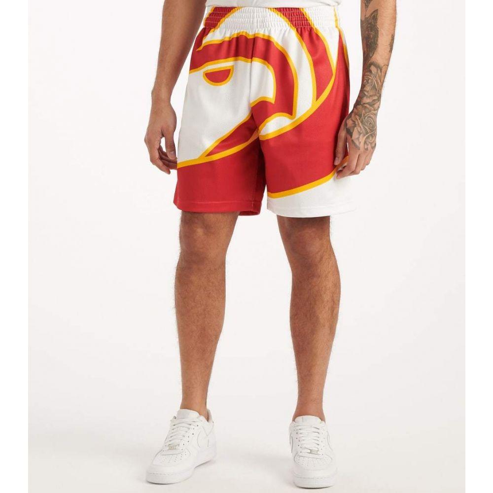ミッチェル アンド ネス Mitchell And Ness メンズ ショートパンツ ボトムス・パンツ【Big Face Hawks Shorts】White