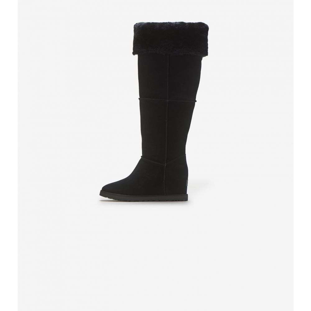アグ Ugg レディース シューズ・靴 【Classic Femme OTK】Black