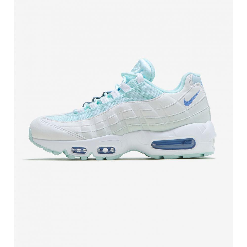 ナイキ Nike レディース ランニング・ウォーキング シューズ・靴【Air Max 95】Teal Tint/Royal Pulse-White