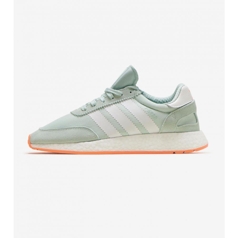 アディダス Adidas レディース ランニング・ウォーキング シューズ・靴【I-5923 Shoe】Green/White/Orange