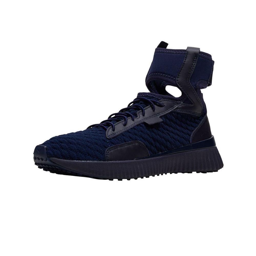 プーマ Puma レディース ランニング・ウォーキング シューズ・靴【Fenty Trainer Mid Geo】Evening Blue/Black