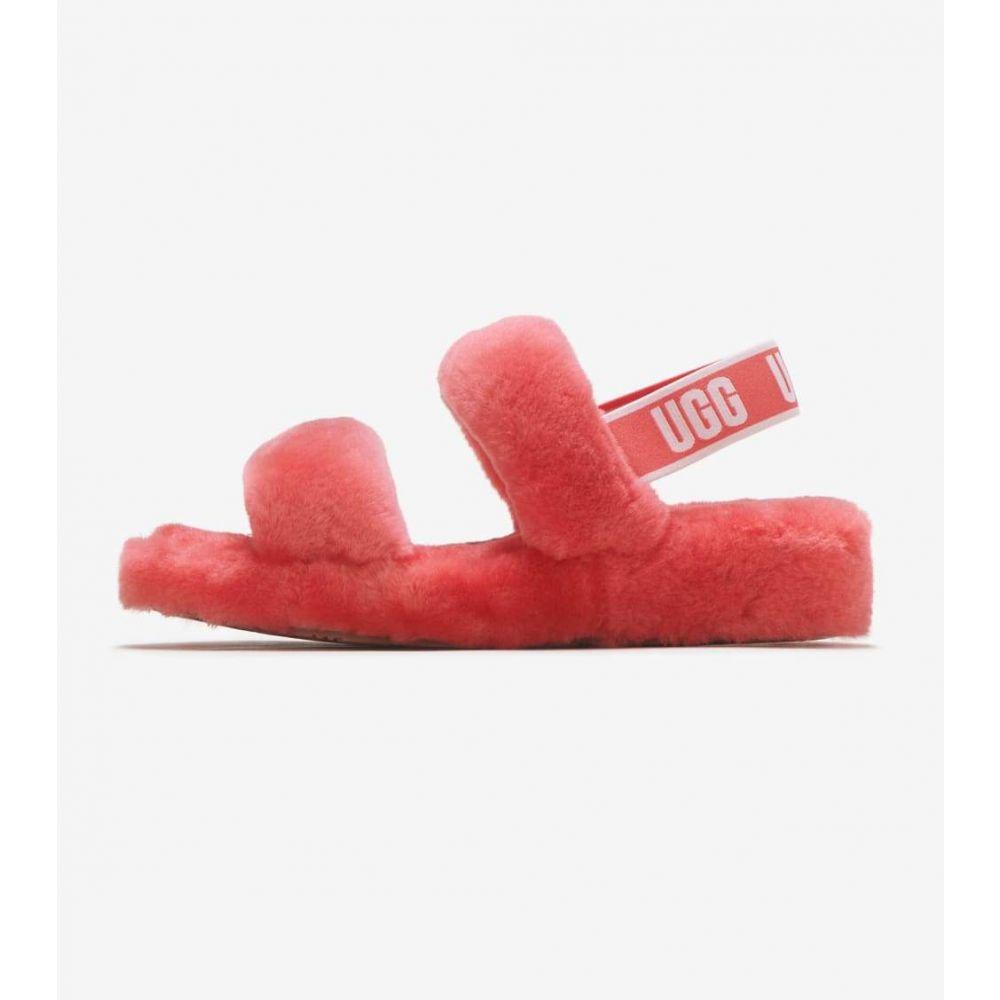 アグ Ugg レディース サンダル・ミュール シューズ・靴【Oh Yeah Slide】Coral