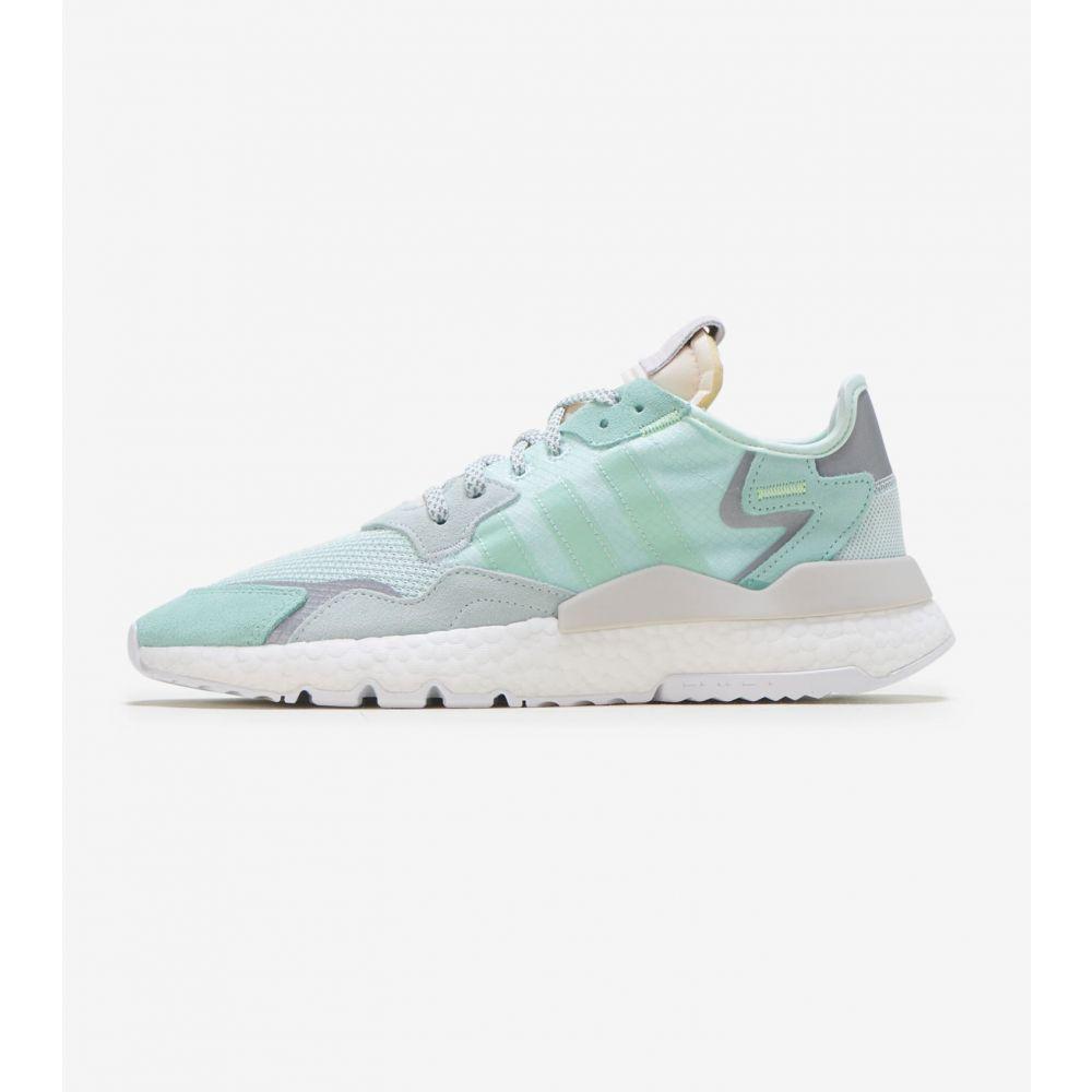 アディダス Adidas レディース ランニング・ウォーキング ジョガーパンツ シューズ・靴【Nite Jogger】Mint/Grey