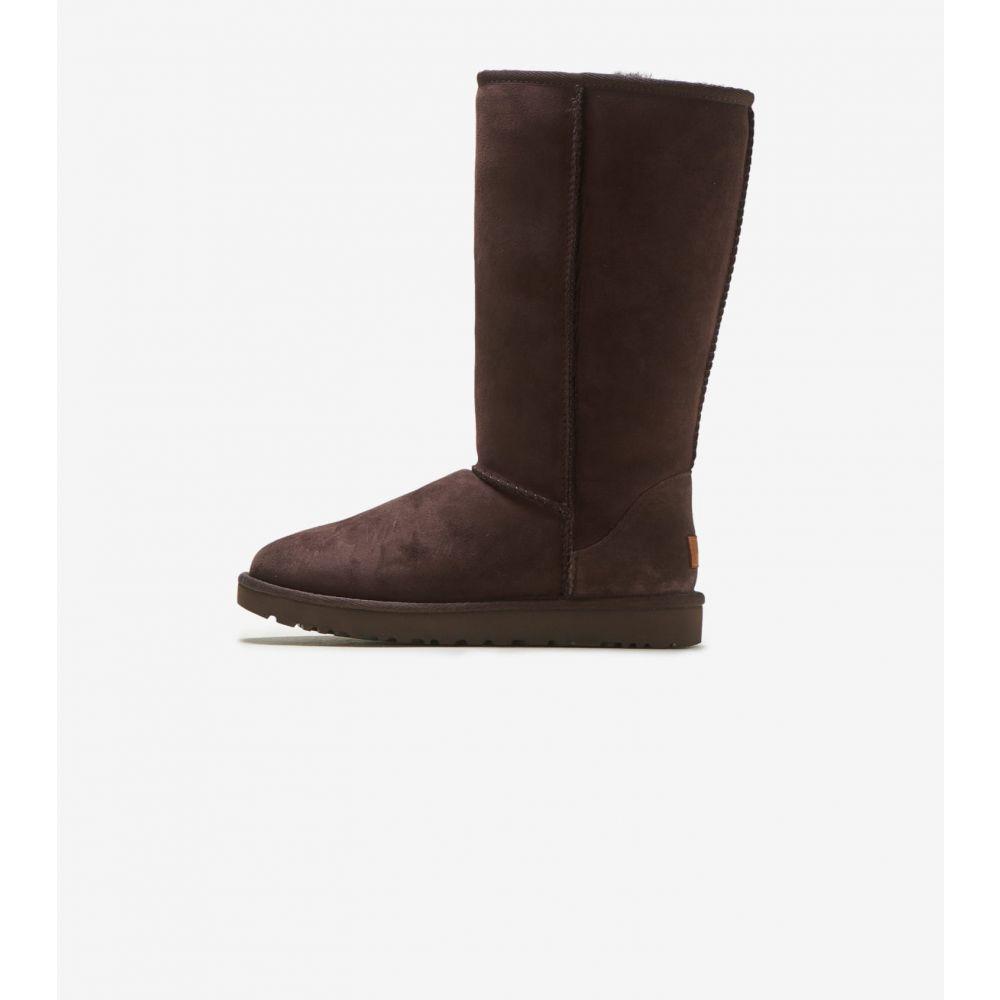 アグ Ugg レディース ブーツ シューズ・靴【Classic Tall II】Chocolate