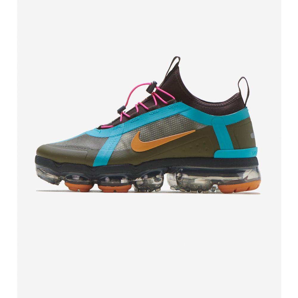 ナイキ Nike レディース ランニング・ウォーキング シューズ・靴【Vapormax 2019 Utility】Olive/Pink/Teal/Brown