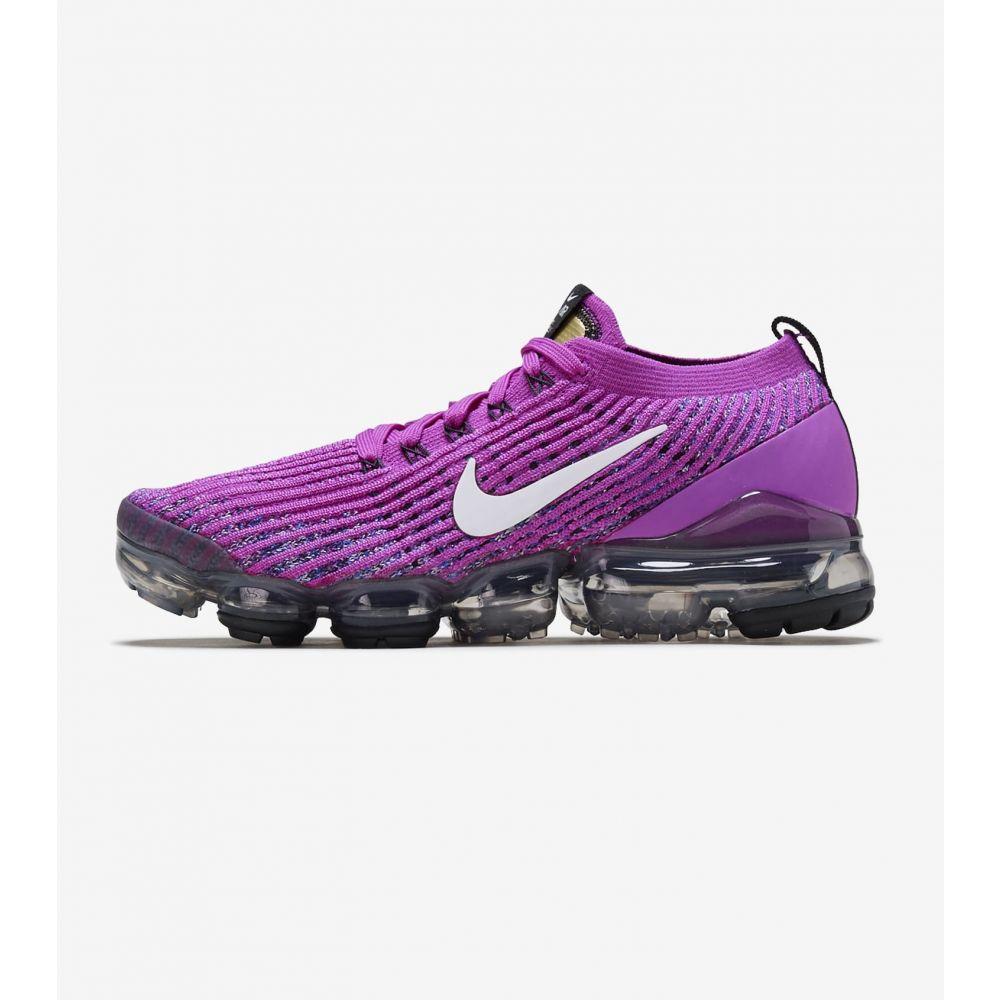 ナイキ Nike レディース ランニング・ウォーキング シューズ・靴【Air Vapormax Flyknit 3】Purple/White/Blue