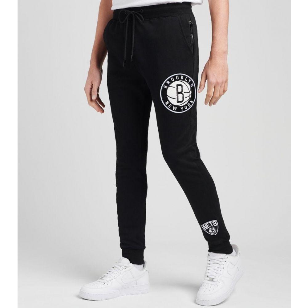 プロ オンラインショップ スタンダード メンズ ボトムス パンツ ジョガーパンツ サイズ交換無料 logo fleece brooklyn joggers BLACK Pro Standard 好評受付中
