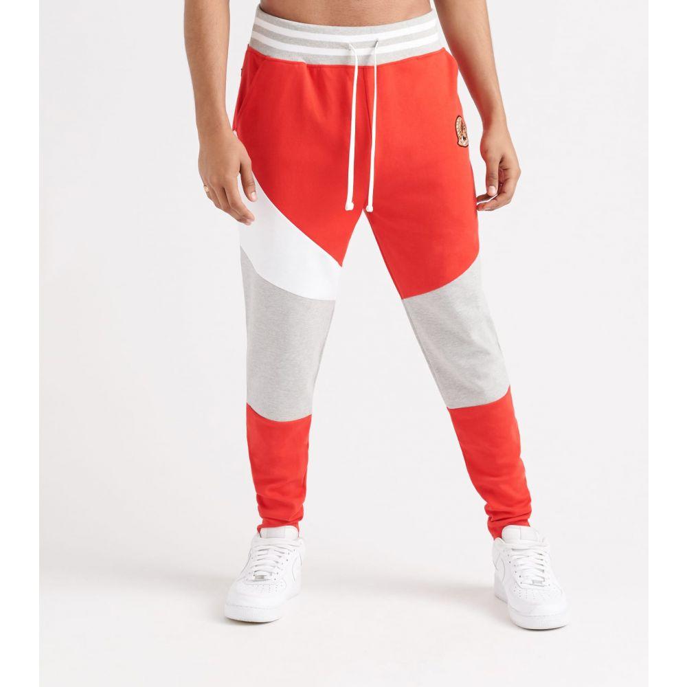 ハッスルギャング Hustle Gang メンズ スウェット・ジャージ ボトムス・パンツ【scrimmage track pants】Racing Red