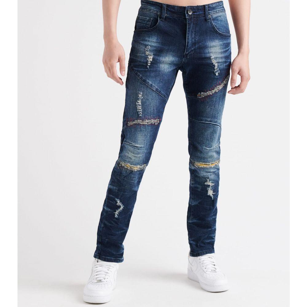 デシベル Decibel メンズ ジーンズ・デニム ボトムス・パンツ【8th district skinny fit jeans】Dark Indigo