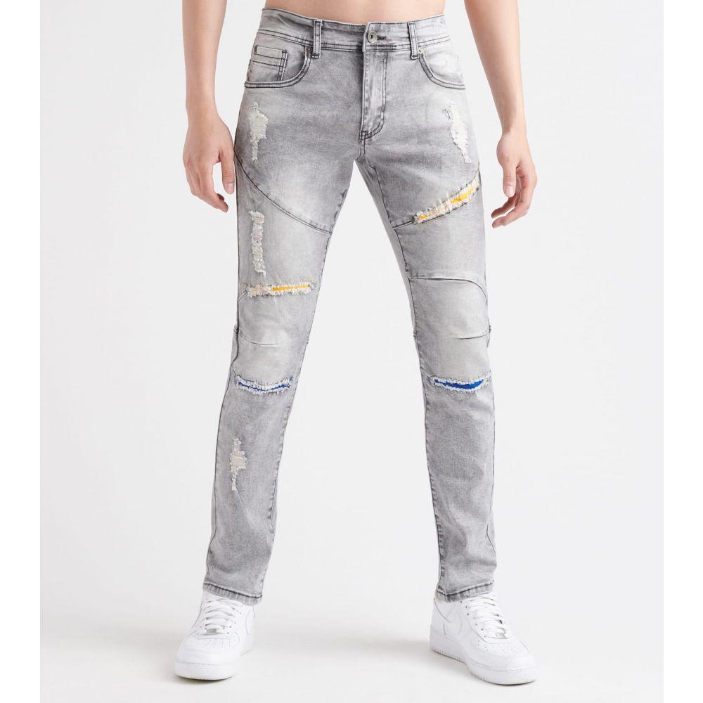 デシベル Decibel メンズ ジーンズ・デニム ボトムス・パンツ【8th district skinny fit jeans】Grey