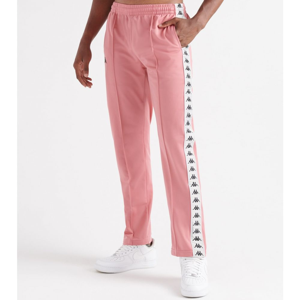 カッパ Kappa メンズ スウェット・ジャージ ボトムス・パンツ【222 banda astoriazz joggers】Pink