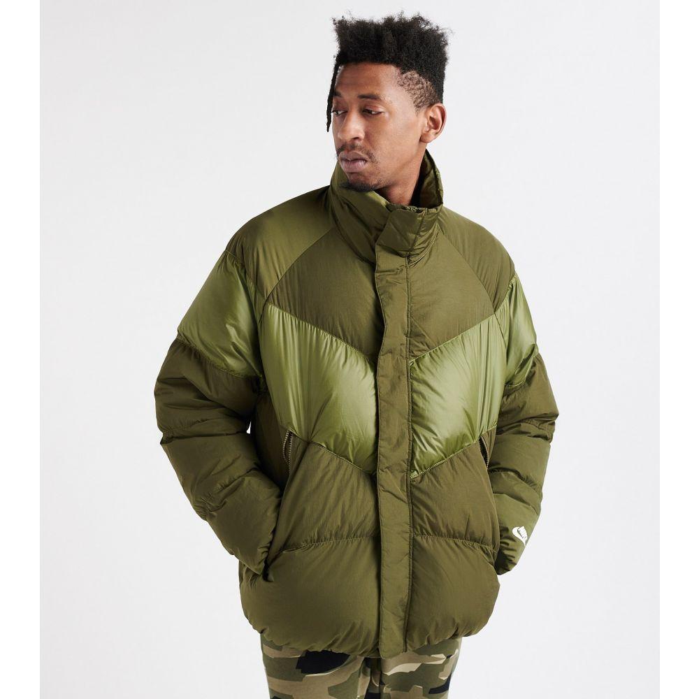 ナイキ Nike メンズ ダウン・中綿ジャケット アウター【down filled jacket】Olive Canvas/White
