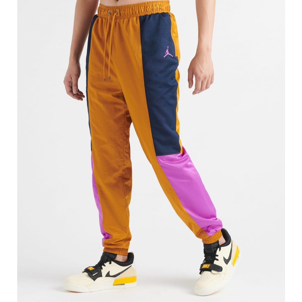 ナイキ ジョーダン Jordan メンズ スウェット・ジャージ ボトムス・パンツ【wings suit pants】Obsdn/Dsrt Ochre/Vvd Purple