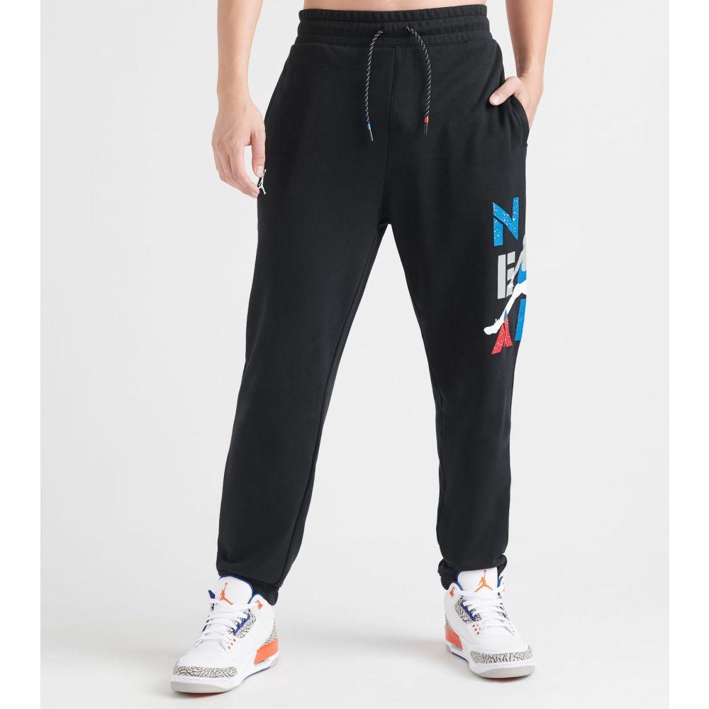ナイキ ジョーダン Jordan メンズ スウェット・ジャージ ボトムス・パンツ【michael air 4 pants】Black/White