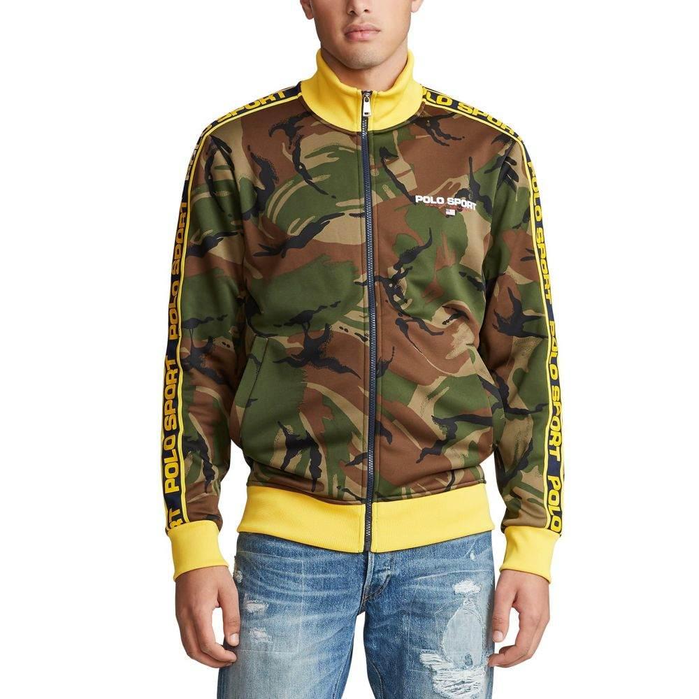 ラルフ ローレン Polo Ralph Lauren メンズ ジャージ アウター【polo sport camo track jacket】British Elmwood Camo