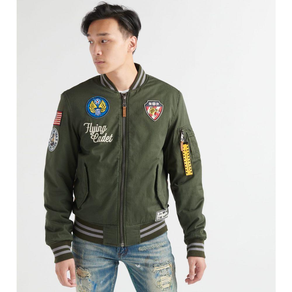トップガン Top Gun メンズ ブルゾン ミリタリージャケット アウター【vietnam cotton canvas bomber jacket】Olive