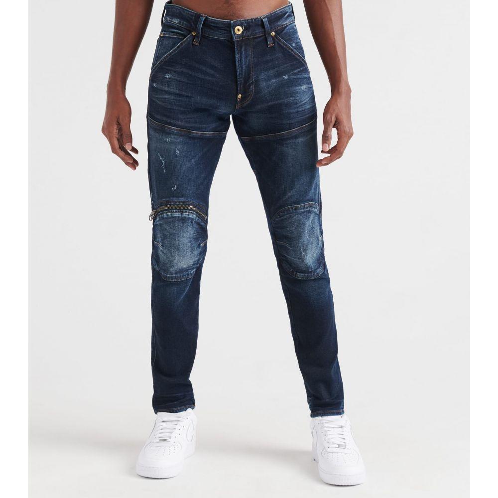 ジースター ロゥ G-star メンズ ジーンズ・デニム ボトムス・パンツ【5620 3d zip knee skinny jeans】Worn In Wave