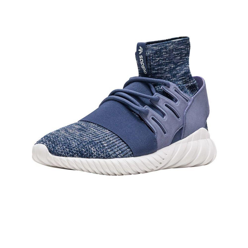 アディダス Adidas メンズ ランニング・ウォーキング シューズ・靴【Tubular Doom Primeknit】Suppur/Navy/White