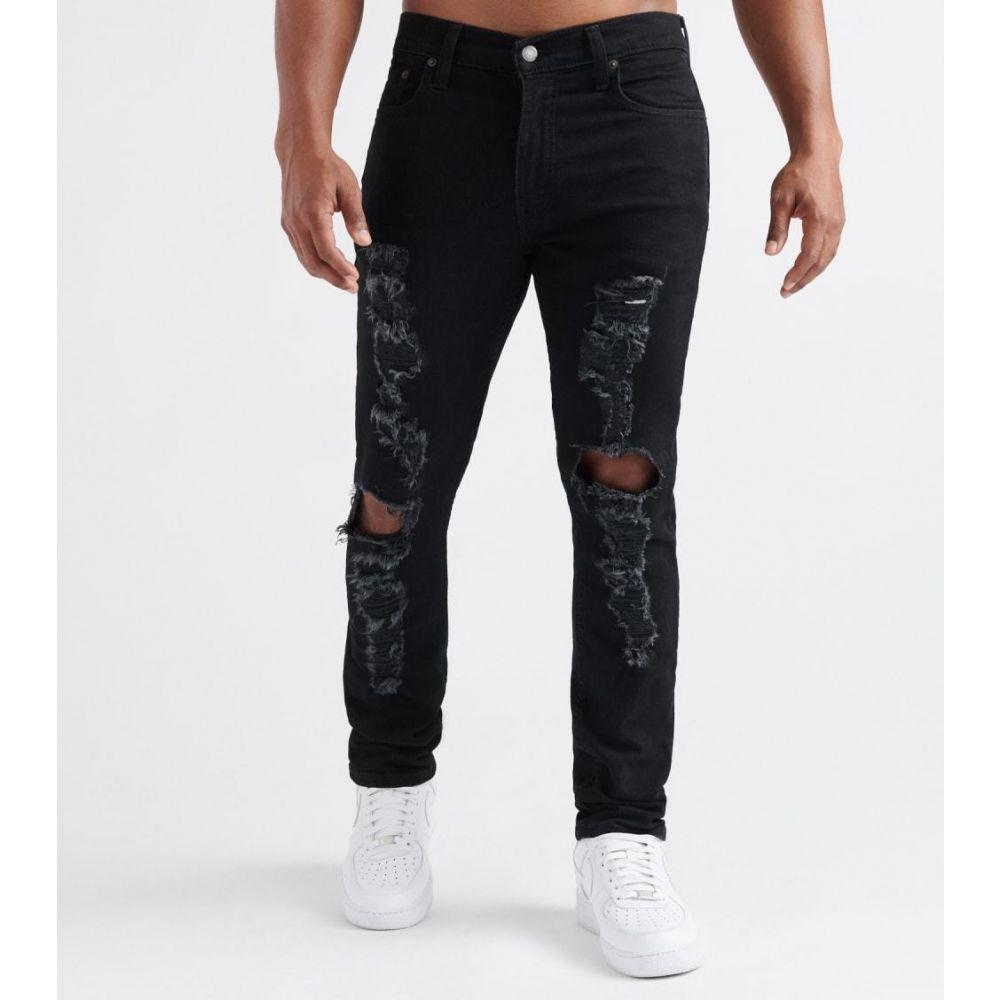 リーバイス Levis メンズ ジーンズ・デニム ボトムス・パンツ【512 Slim Tapered Jeans - L32】Crash