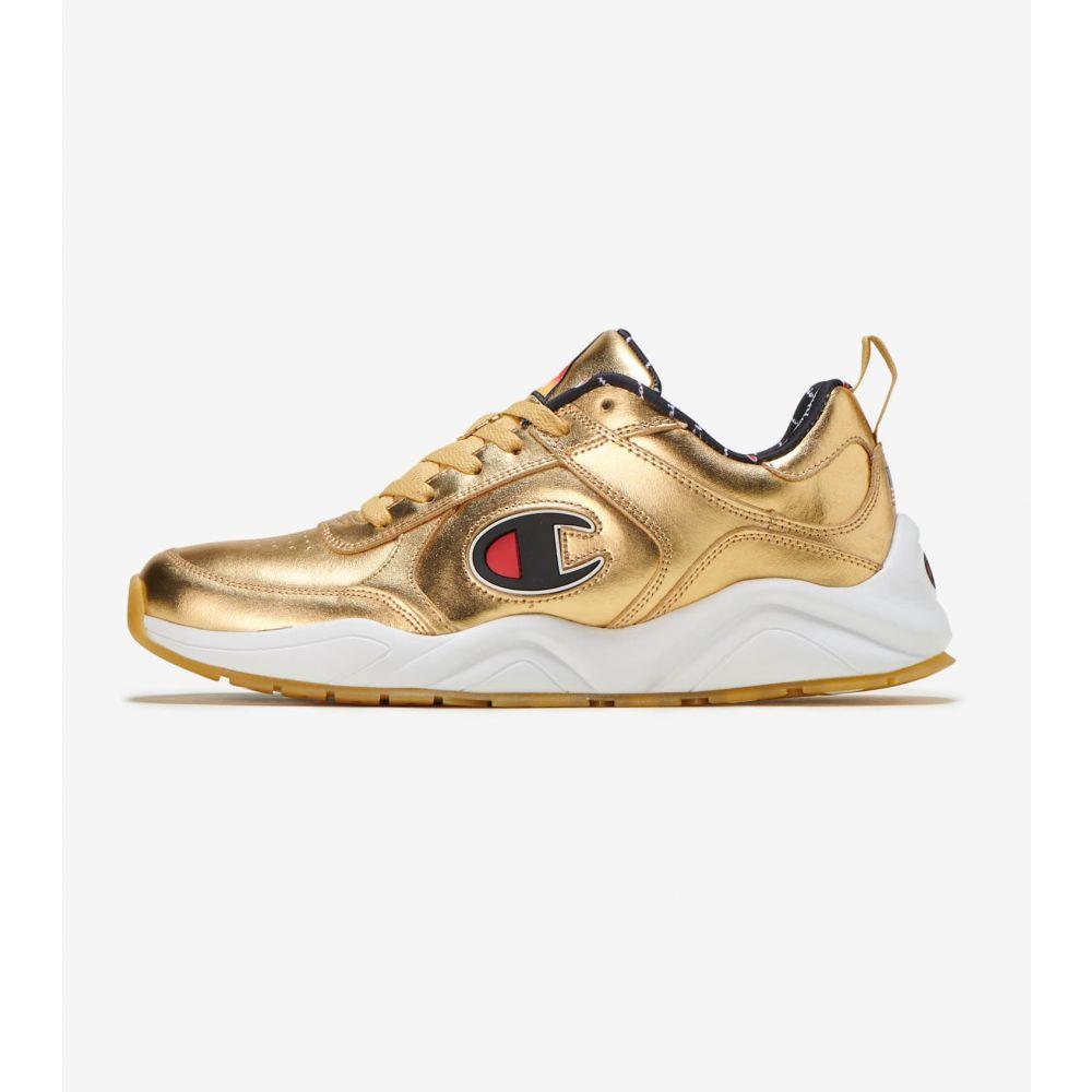 チャンピオン Champion メンズ スニーカー シューズ・靴【93 Eighteen Metallic Sneaker】Gold
