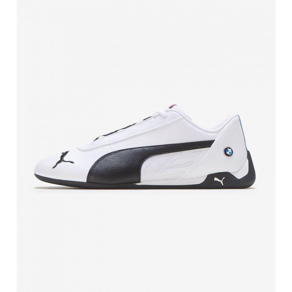プーマ Puma メンズ シューズ・靴 【BMW Motorsport R-Cat】WHITE/BLACK
