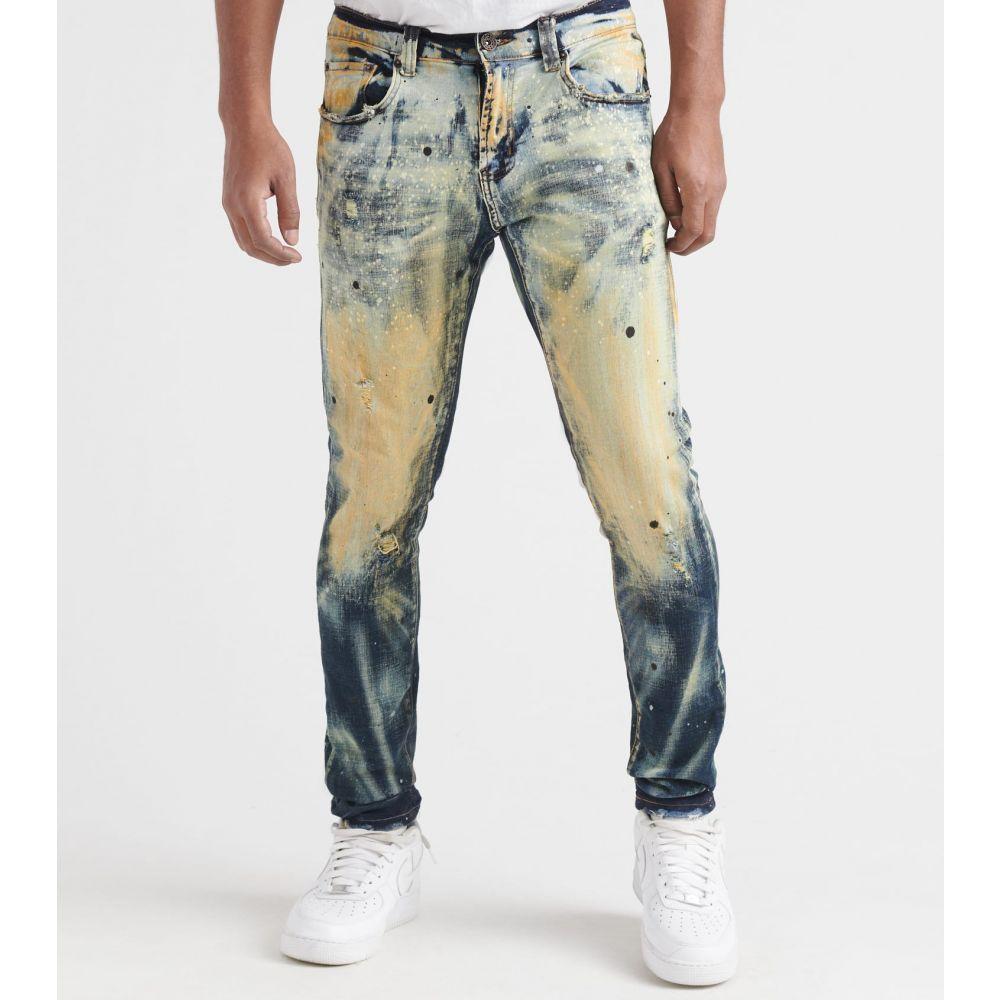 デシベル Decibel メンズ ジーンズ・デニム ボトムス・パンツ【5 Pocket Stretch Jeans With Bleach】Indigo Tint