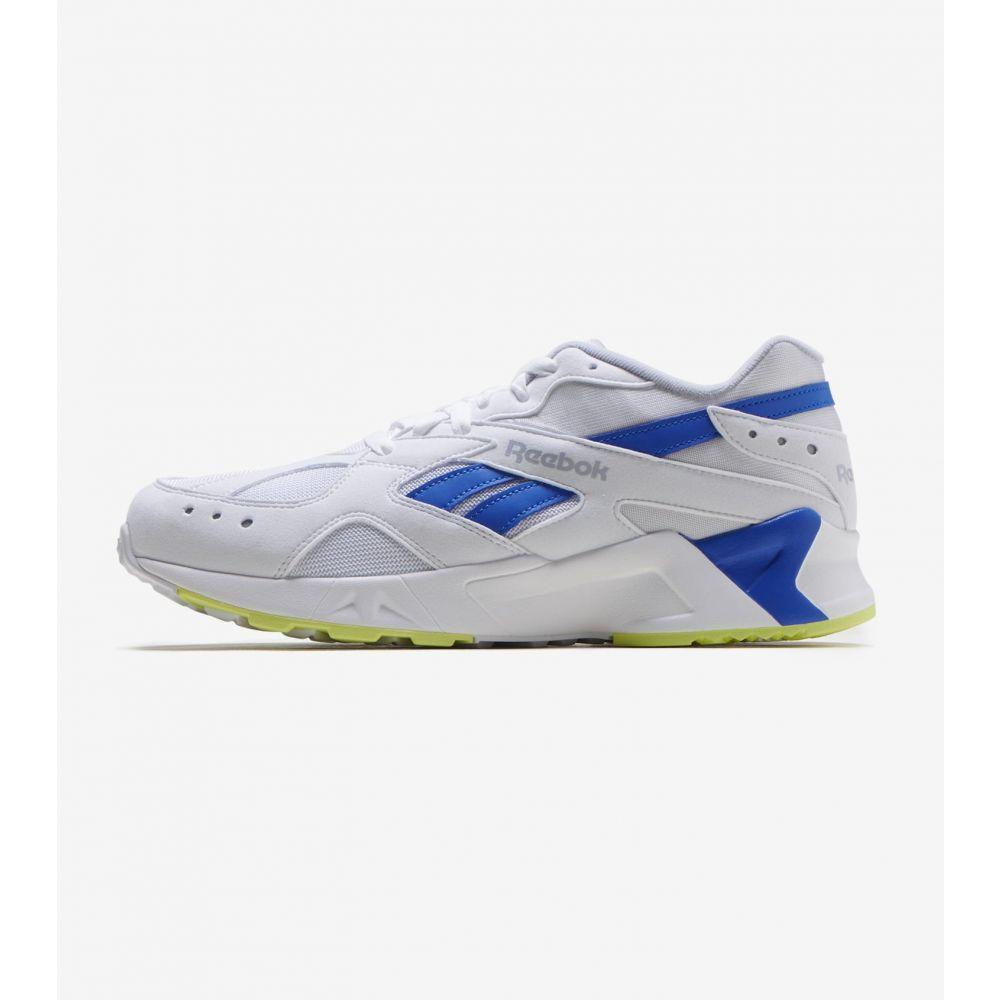 リーボック Reebok メンズ ランニング・ウォーキング シューズ・靴【Aztrek】White/Blue