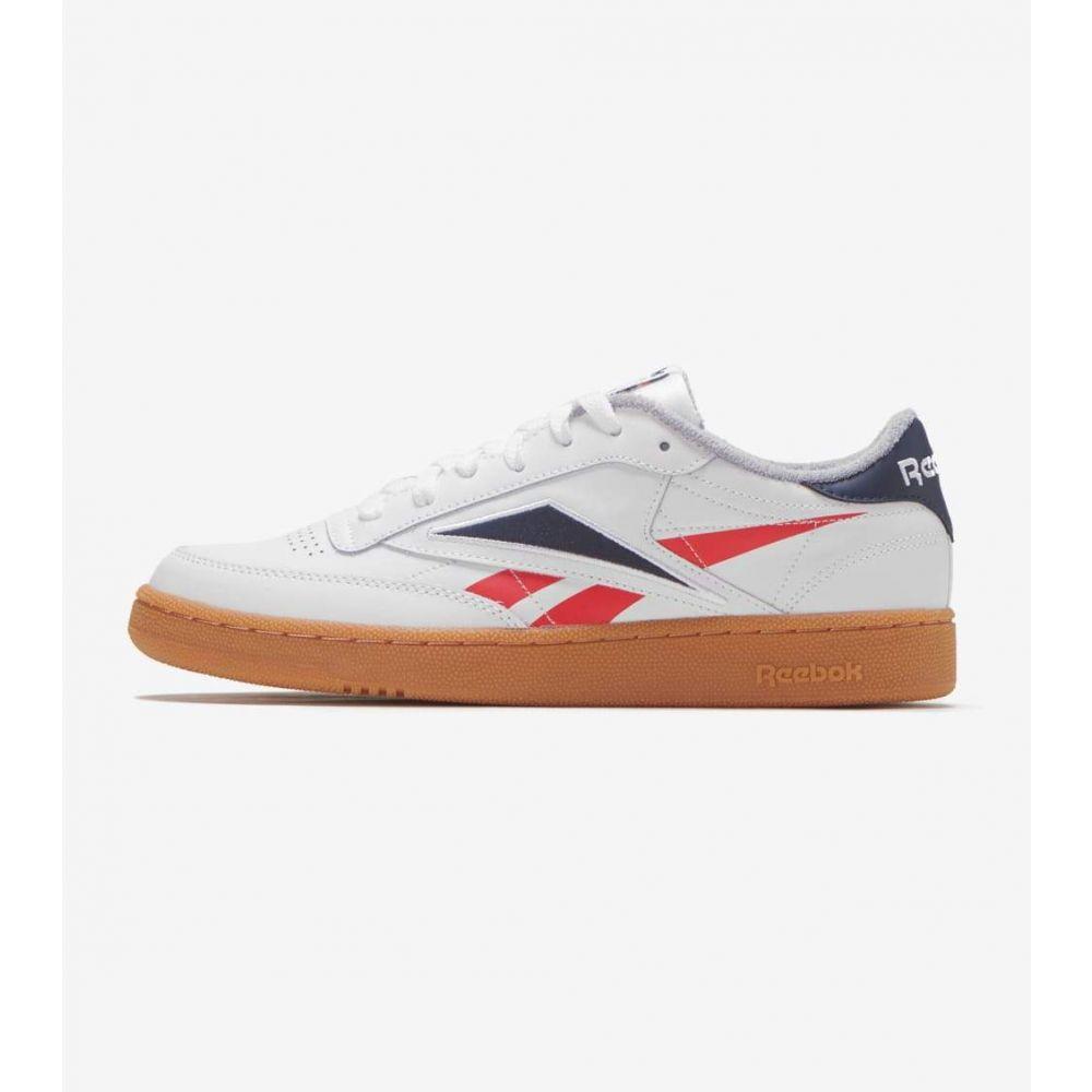 リーボック Reebok メンズ シューズ・靴 【Club C 85 MU】White/Red/Navy
