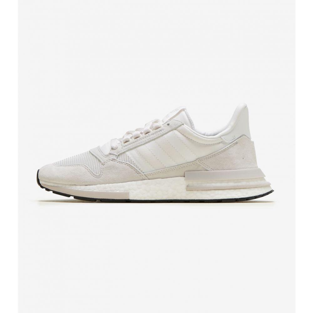 アディダス Adidas メンズ ランニング・ウォーキング シューズ・靴【ZX 500 RM】Cloud White/White