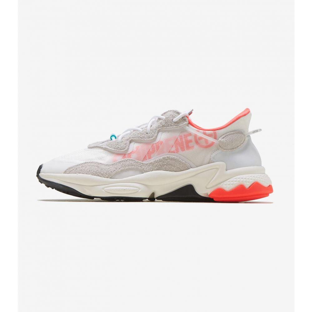 アディダス Adidas メンズ ランニング・ウォーキング シューズ・靴【Ozweego】White/Orange