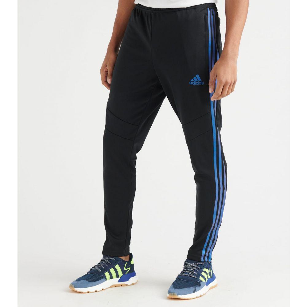 アディダス Adidas メンズ スウェット・ジャージ ボトムス・パンツ【Tiro19 Pants】Black/Blue Pearl