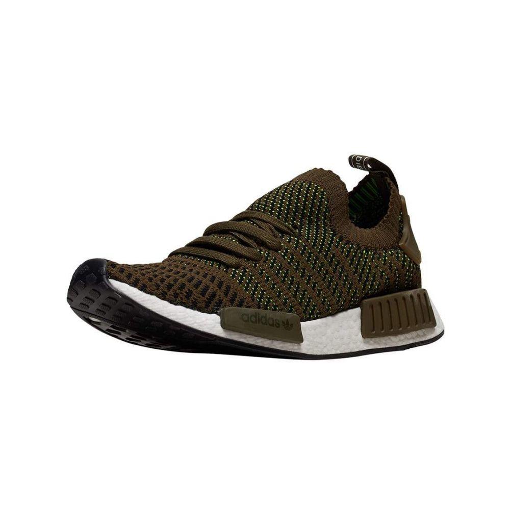 アディダス Adidas メンズ ランニング・ウォーキング シューズ・靴【NMD R1 STLT PK】Olive/Black
