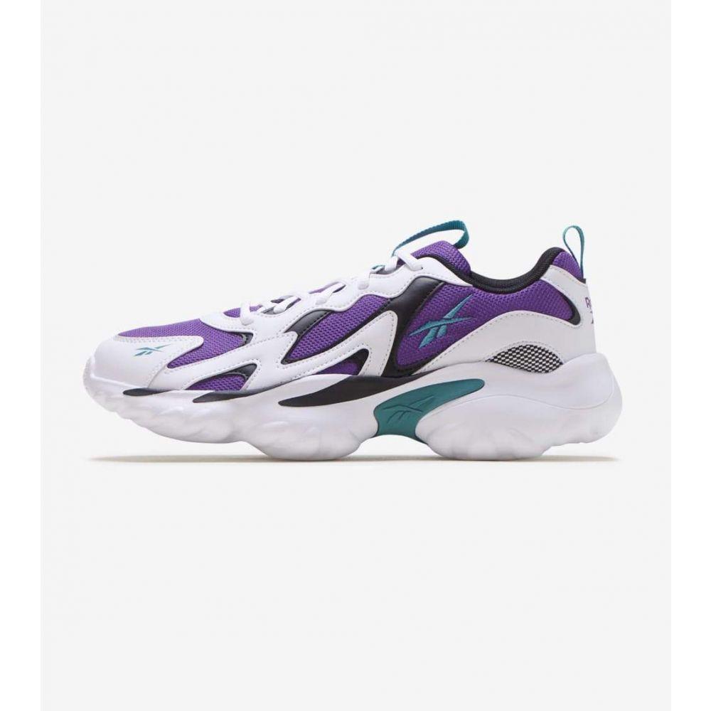 リーボック Reebok メンズ ランニング・ウォーキング シューズ・靴【DMX Series 1000】White/Purple