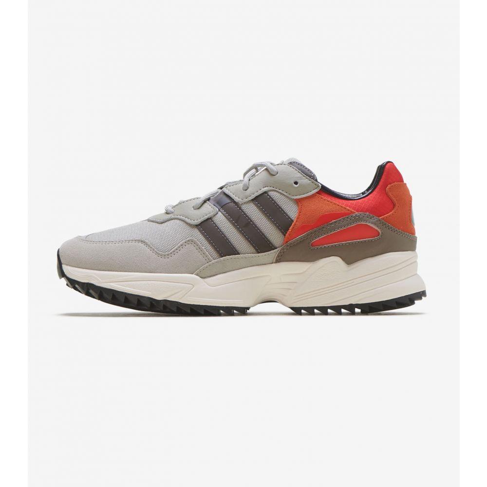 アディダス Adidas メンズ ランニング・ウォーキング シューズ・靴【Yung-96 Trail】Sesame/Grey Met/Off White