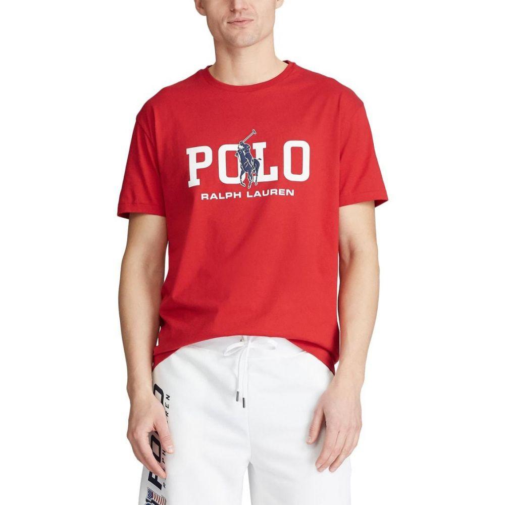 ラルフ ローレン Polo Ralph Lauren メンズ Tシャツ トップス【Classic Fit Graphic T-Shirt】RL Red/White
