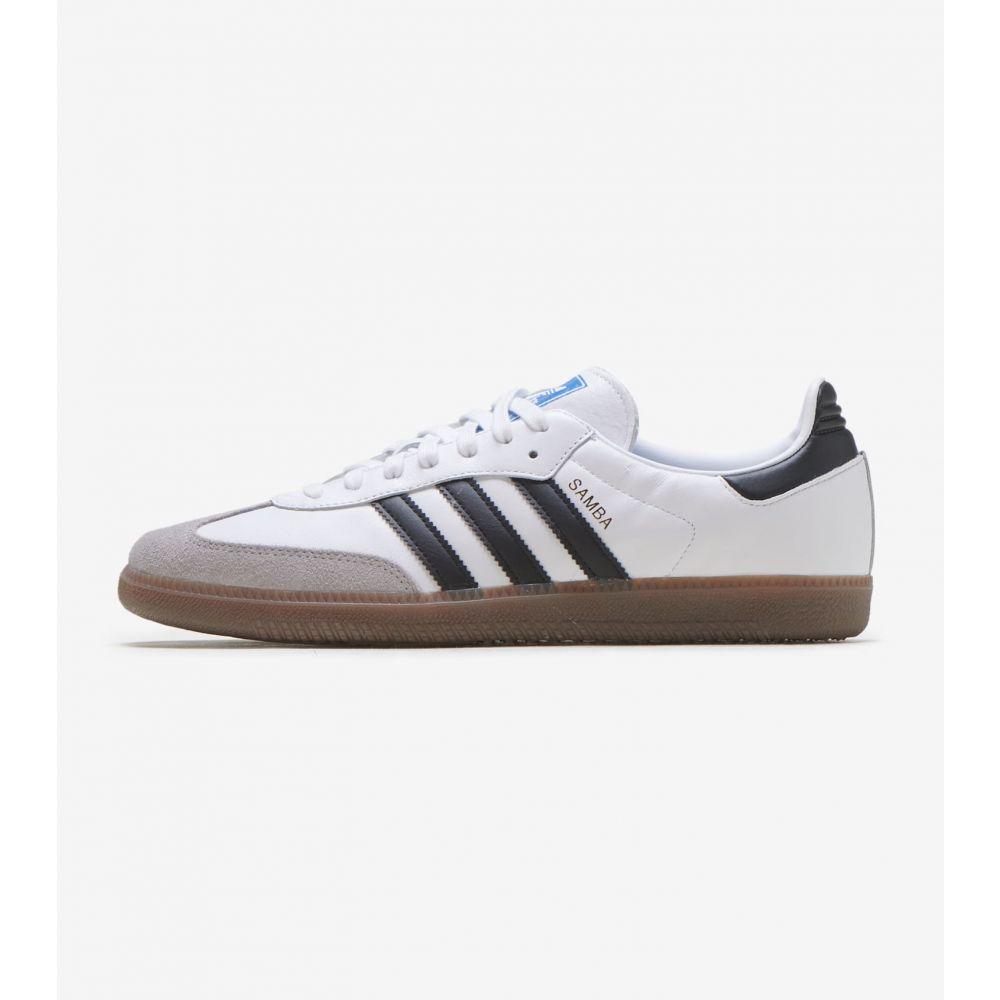 アディダス Adidas メンズ スニーカー シューズ・靴【Samba OG】White/Black
