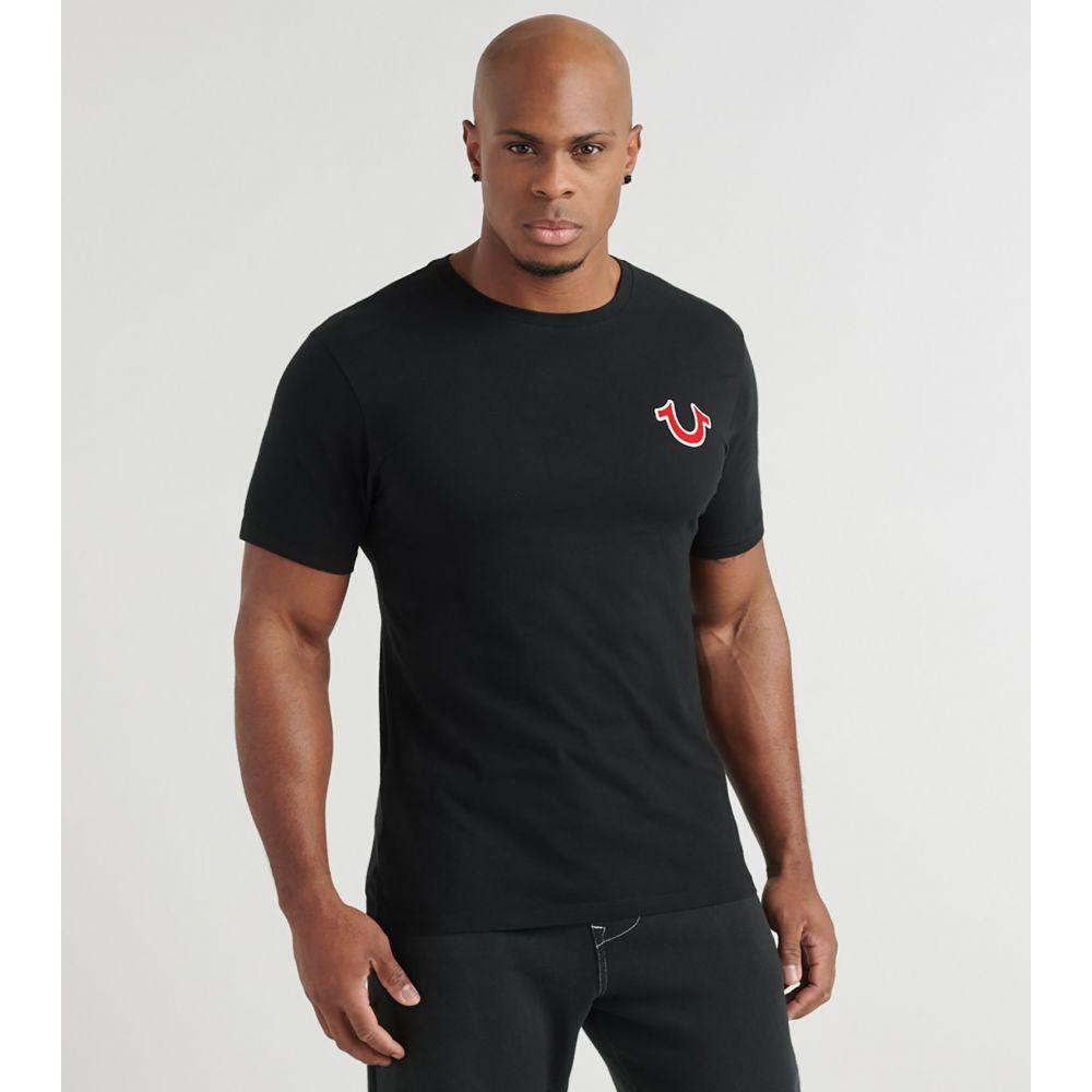 トゥルー レリジョン True Religion メンズ Tシャツ ロゴTシャツ トップス【Buddha Logo Tee】Black
