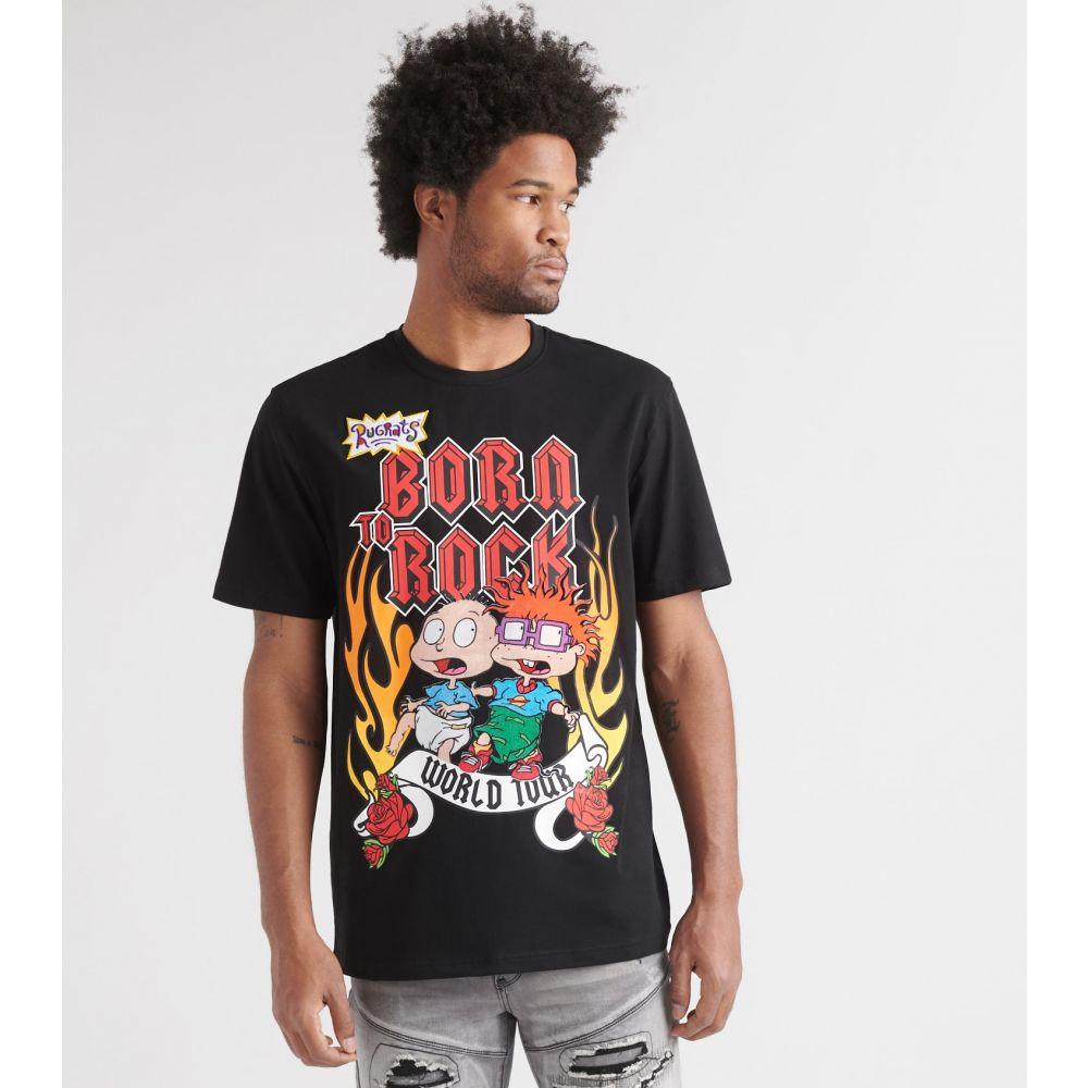 フリーズ Freeze メンズ Tシャツ トップス【Rugrats Born to Rock Tee】NK-BLK