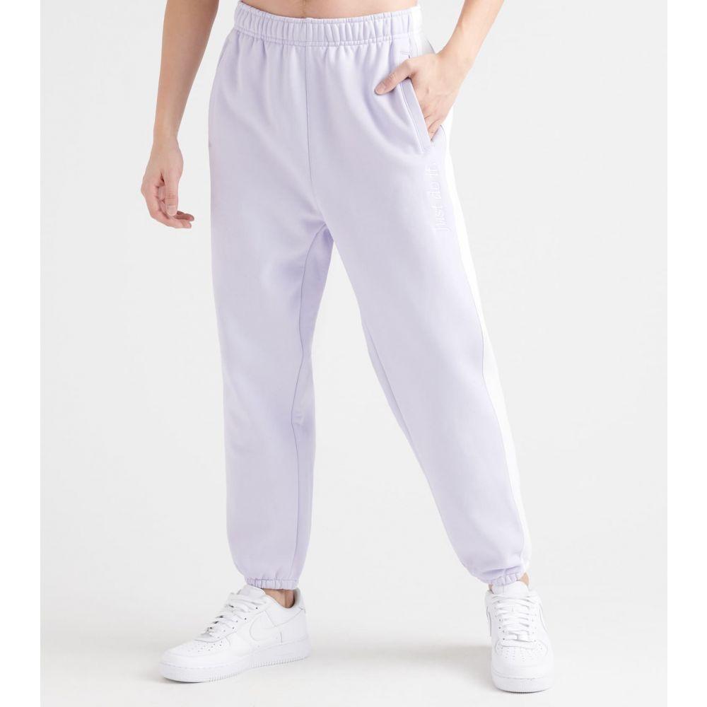 ナイキ Nike メンズ スウェット・ジャージ ボトムス・パンツ【NSW Just Do It Pants】Lavender Mist/White